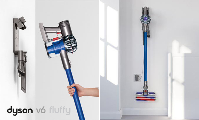 test et avis aspirateur balai dyson v6 fluffy. Black Bedroom Furniture Sets. Home Design Ideas