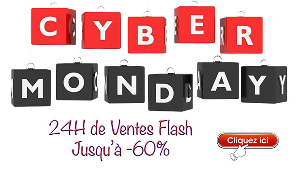 Promotions cyber monday