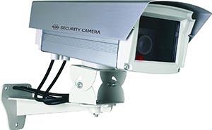 camera de surveillance factice elro cs66d