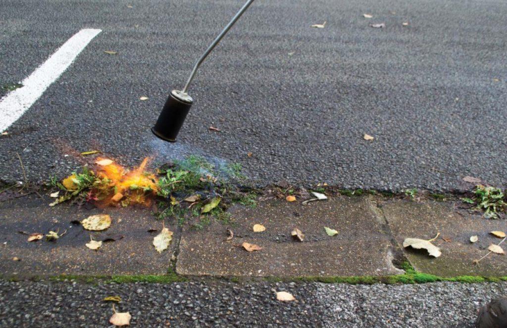 desherbeur thermique a gaz